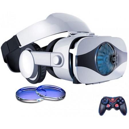 YANJINGYJ Lunettes 3D Casque de réalité virtuelle